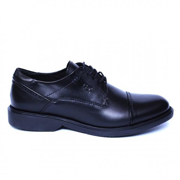 Pantofi barbati din piele naturala, Marco, Gitanos, Negru, 39 EU 2