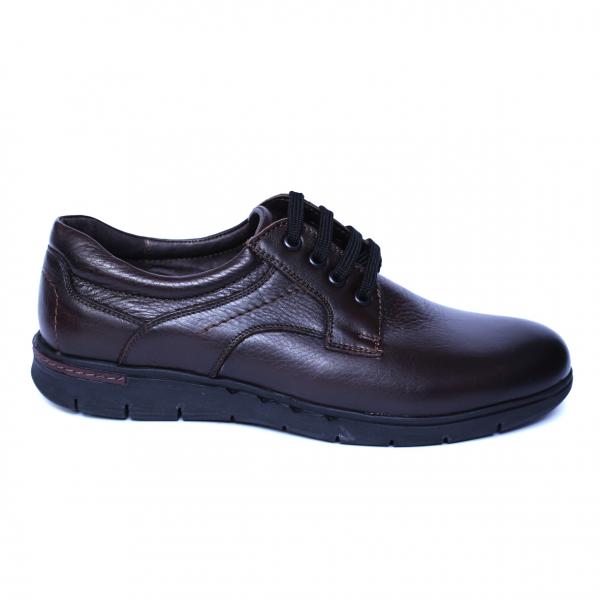 Pantofi barbati din piele naturala, Paul, Relin, Maro, 39 EU 3