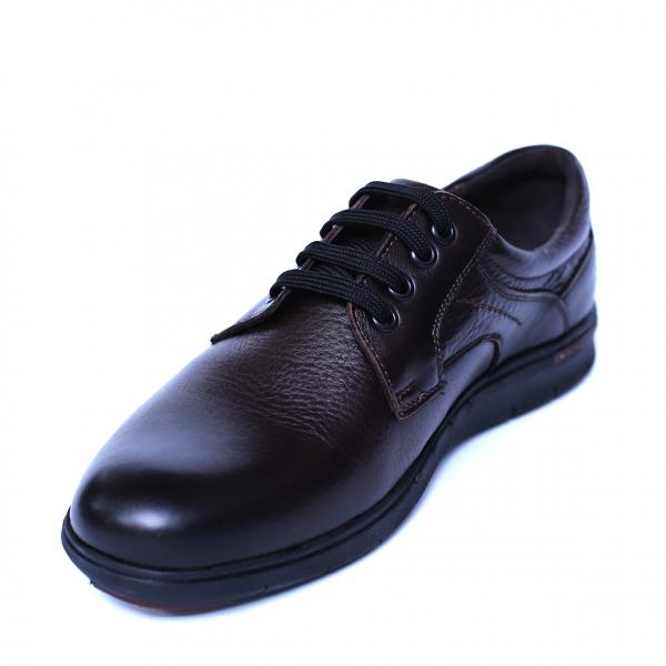 Pantofi barbati din piele naturala, Paul, Relin, Maro, 39 EU 0