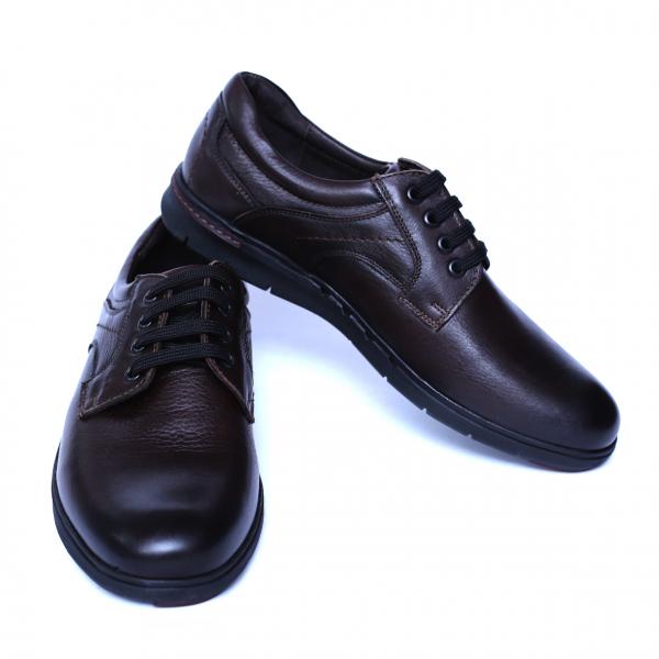 Pantofi barbati din piele naturala, Paul, Relin, Maro, 39 EU 2