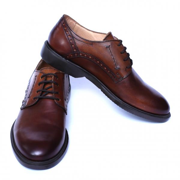Pantofi barbati din piele naturala, Wed, Gitanos, Maro, 39 EU [2]