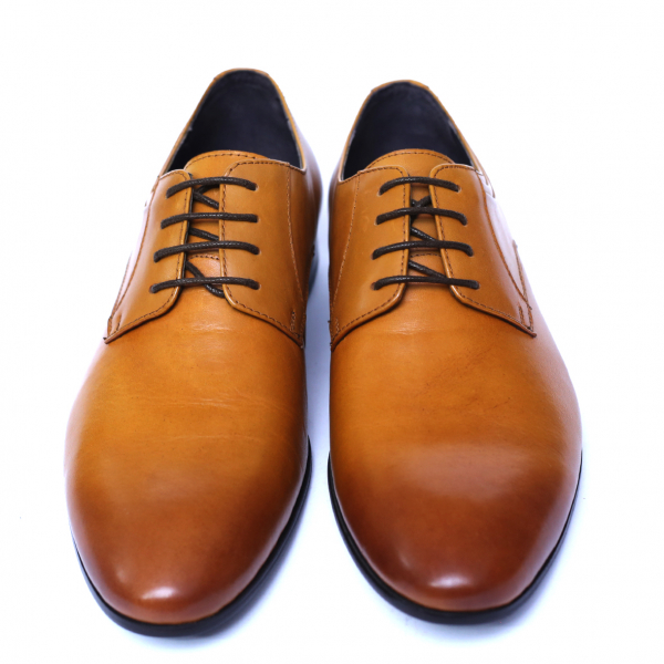 Pantofi barbati din piele naturala, Scottie, SACCIO, Maro, 39 EU 1