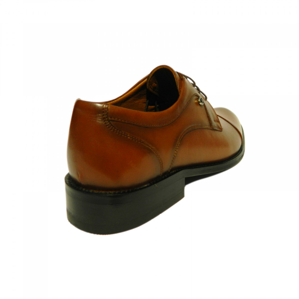 Pantofi eleganti pentru barbati Buzz, piele naturala, Gitanos, Maro, 39 EU [2]