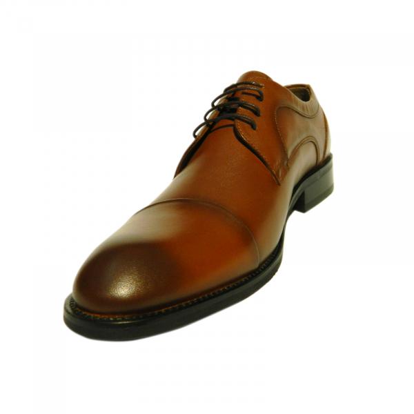 Pantofi eleganti pentru barbati Buzz, piele naturala, Gitanos, Maro, 39 EU [1]