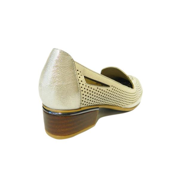 Pantofi dama din piele naturala, Ugudal, Gitanos, Bej, 36 EU [1]
