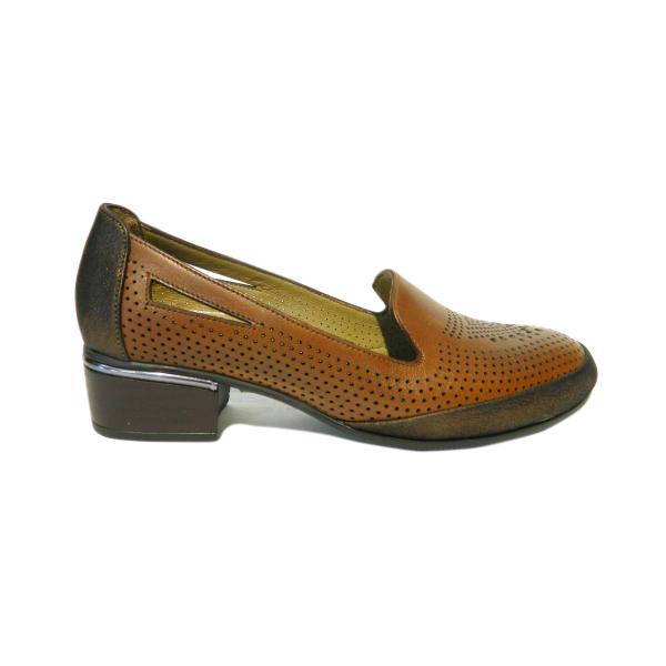 Pantofi dama din piele naturala, Ugudal, Gitanos, Maro, 36 EU 2