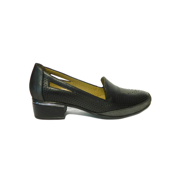 Pantofi dama din piele naturala, Ugudal, Gitanos, Negru, 36 EU [2]