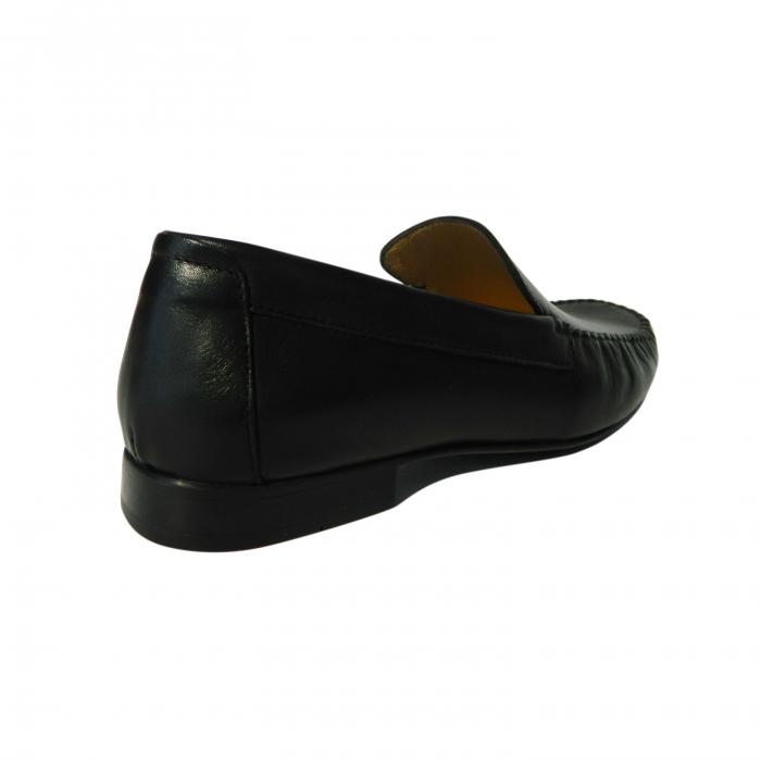 Pantofi casual pentru barbati din piele naturala, Severio, Gitanos, Negru, 43 EU 1