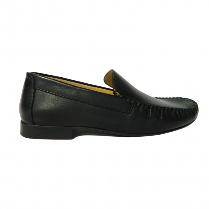 Pantofi casual pentru barbati din piele naturala, Severio, Gitanos, Negru, 43 EU 0