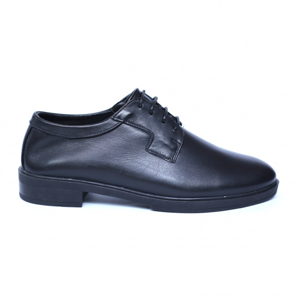 Pantofi dama din piele naturala, Fabia, Peter, Negru, 39 EU 2