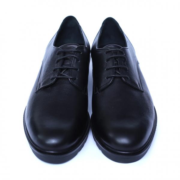Pantofi dama din piele naturala, AML, Peter, Negru, 37 EU [5]
