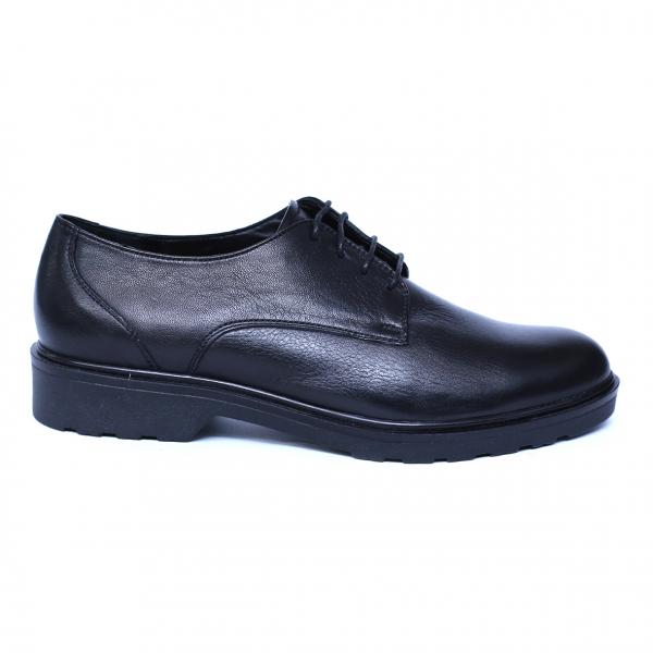Pantofi dama din piele naturala, AML, Peter, Negru, 37 EU [7]