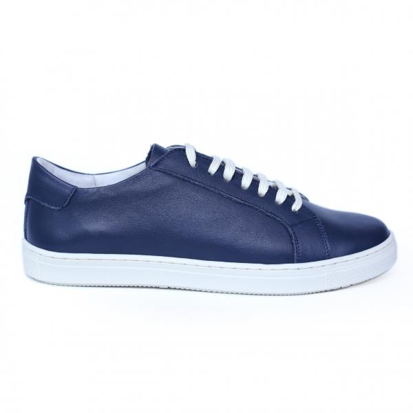Pantofi dama din piele naturala, Verona, Peter, Albastru, 41 EU 6
