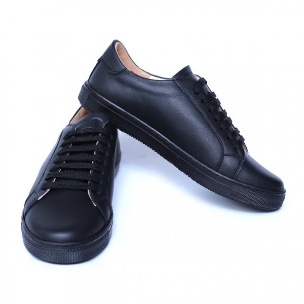 Pantofi dama din piele naturala, Verona, Peter, Negru, 35 EU 5
