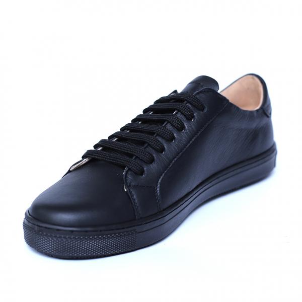 Pantofi dama din piele naturala, Verona, Peter, Negru, 35 EU 4