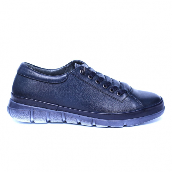 Pantofi dama din piele naturala, Snk, Goretti, Albastru, 39 EU [0]