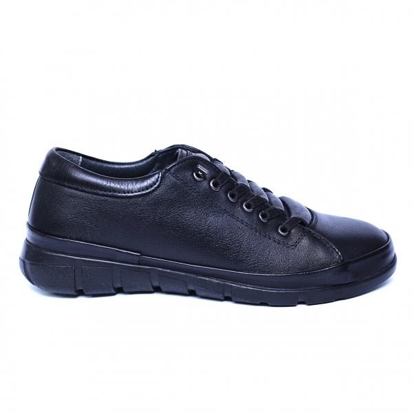 Pantofi dama din piele naturala, Snk, Goretti, Negru, 36 EU 7