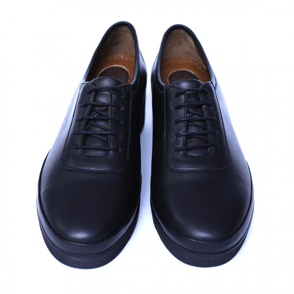Pantofi dama din piele naturala, Sarabia, Anna Viotti, Negru, 40 EU [5]