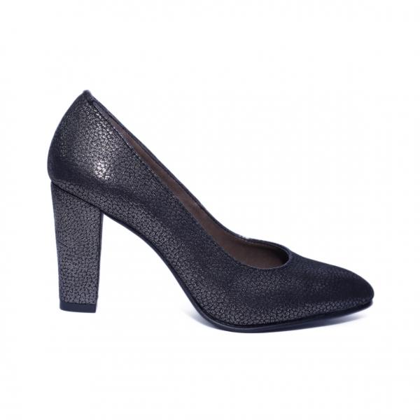 Pantofi dama din piele naturala, Brianne, Nist, Negru, 40 EU 0