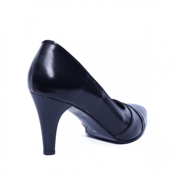 Pantofi dama din piele naturala, Marta, Nist, Negru, 37 EU [2]