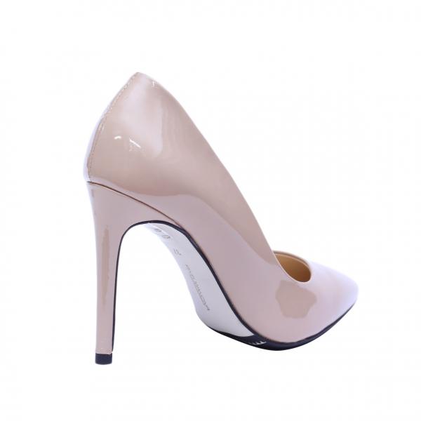 Pantofi dama din piele naturala, Elegance, RIVA MANCINA, Roz, 35 EU 2