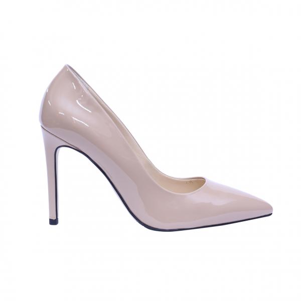 Pantofi dama din piele naturala, Elegance, RIVA MANCINA, Roz, 35 EU 0