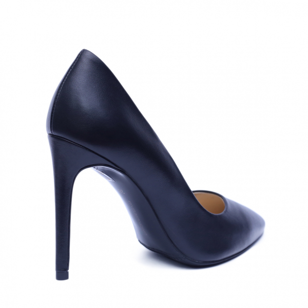 Pantofi dama din piele naturala, Elegance, RIVA MANCINA, Negru, 37 EU [2]