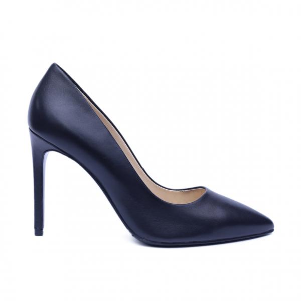 Pantofi dama din piele naturala, Elegance, RIVA MANCINA, Negru, 37 EU [0]