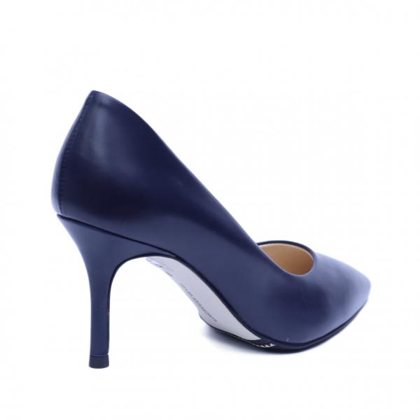 Pantofi dama din piele naturala, Elle, RIVA MANCINA, Albastru, 37 EU 2