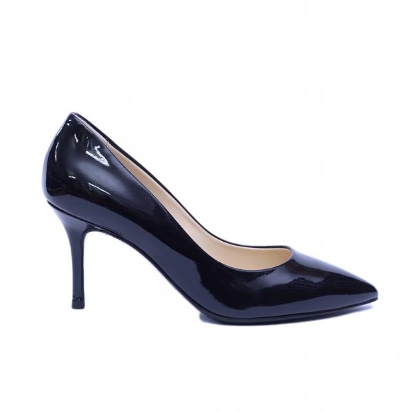 Pantofi dama din piele naturala, Elle, RIVA MANCINA, Negru, 36 EU [0]