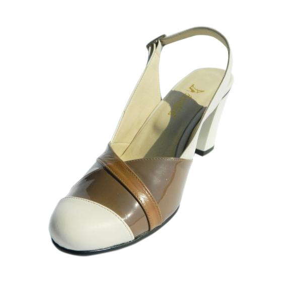 Pantofi dama din piele naturala, Brenda, Agatia, Bej, 36 EU [0]
