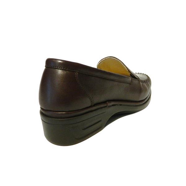 Pantofi dama cu talpa ortopedica Hail, piele naturala, Gitanos, Maro, 36 EU 1