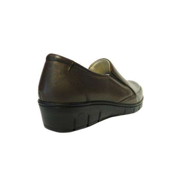 Pantofi dama cu talpa ortopedica Jevy, piele naturala, Gitanos, Maro, 36 EU [1]