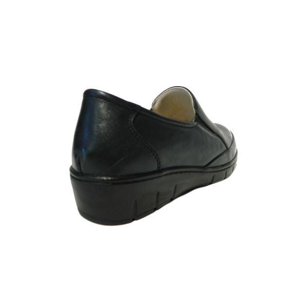 Pantofi dama cu talpa ortopedica Jevy, piele naturala, Gitanos, Albastru, 36 EU 1
