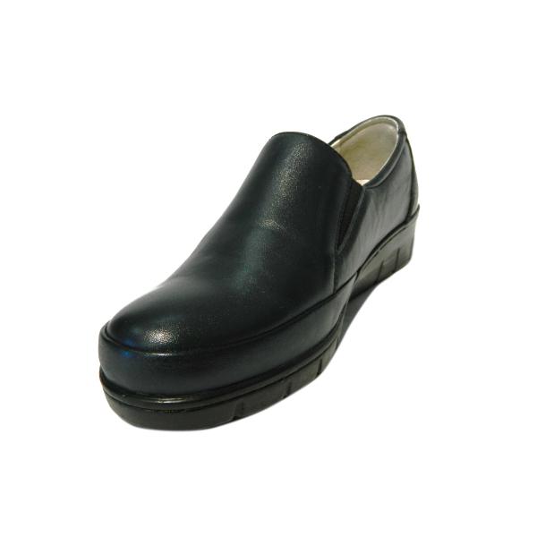 Pantofi dama cu talpa ortopedica Jevy, piele naturala, Gitanos, Albastru, 36 EU 0