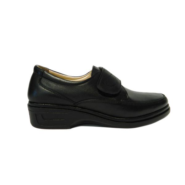 Pantofi dama cu talpa ortopedica Holy, piele naturala, Gitanos, Negru, 36 EU 2