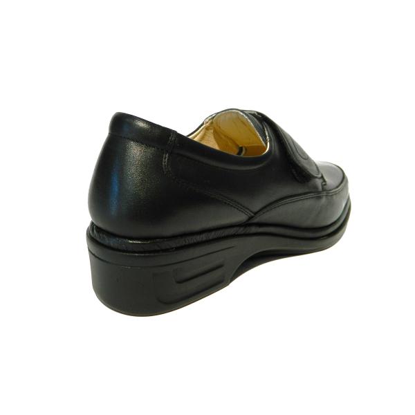 Pantofi dama cu talpa ortopedica Holy, piele naturala, Gitanos, Negru, 36 EU 1