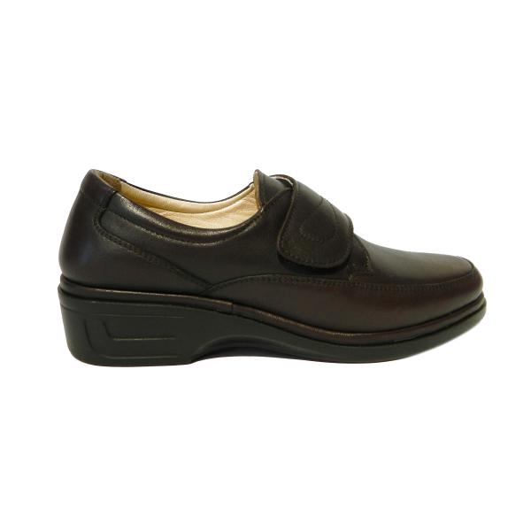 Pantofi dama cu talpa ortopedica Holy, piele naturala, Gitanos, Maro, 36 EU 2