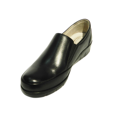 Pantofi dama cu talpa ortopedica Jevy, piele naturala, Gitanos, Negru, 37 EU [2]