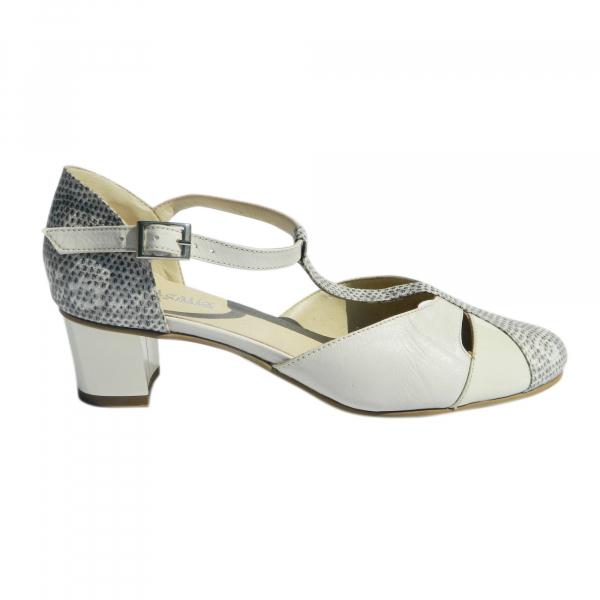 Pantofi dama din piele naturala, Felicity, Agatia, Bej, 35 EU 0