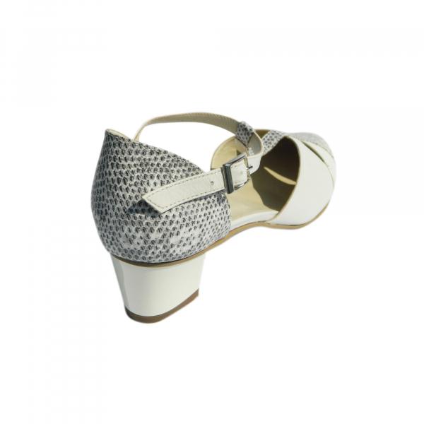 Pantofi dama din piele naturala, Felicity, Agatia, Bej, 35 EU 2