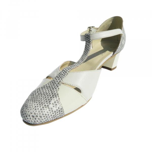 Pantofi dama din piele naturala, Felicity, Agatia, Bej, 35 EU 1