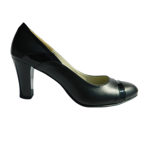 Pantofi dama din piele naturala, Teresa, Arco shoes, Negru, 37 EU 2