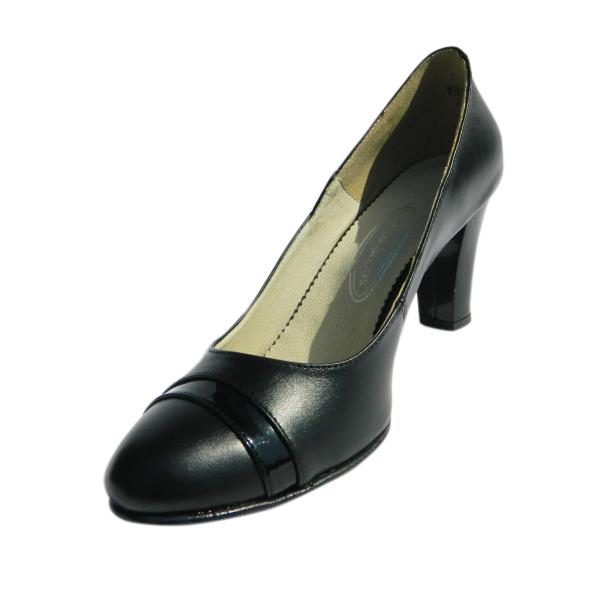 Pantofi dama din piele naturala, Teresa, Arco shoes, Negru, 37 EU 0