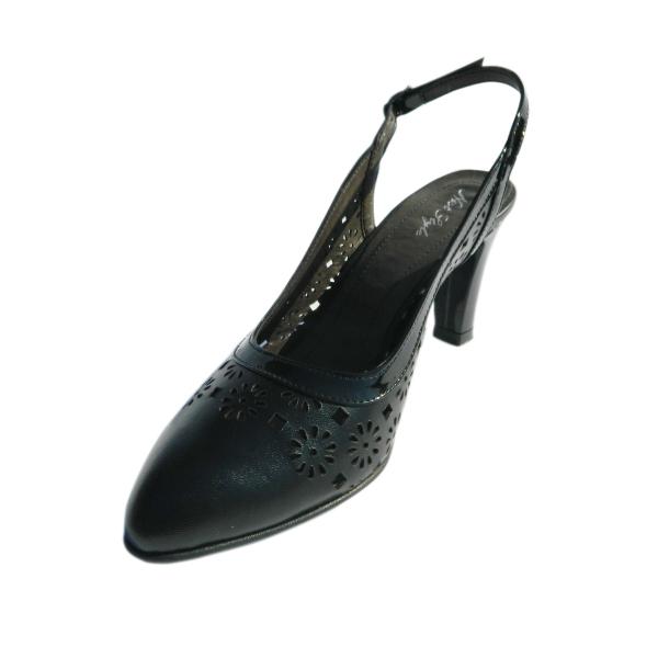 Pantofi dama din piele naturala, Shay, Nist, Negru, 35 EU 0