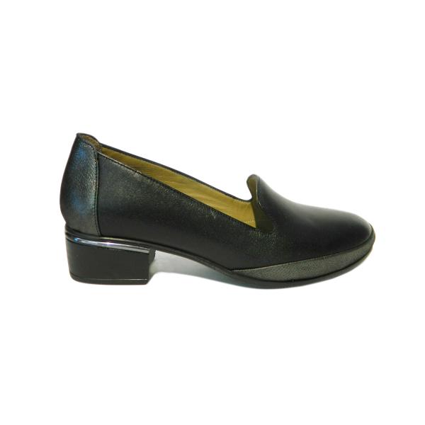 Pantofi dama din piele naturala, Lionele, Gitanos, Negru, 36 EU [2]