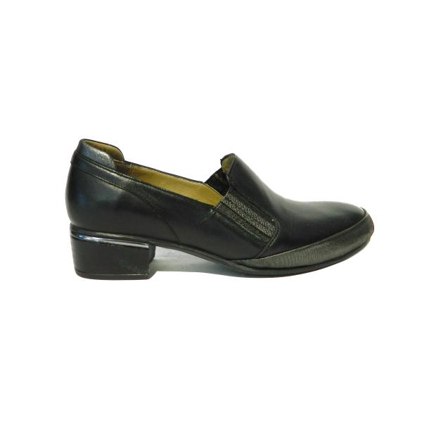 Pantofi dama din piele naturala, Smaranda, Gitanos, Negru, 37 EU 2