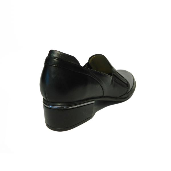 Pantofi dama din piele naturala, Smaranda, Gitanos, Negru, 37 EU 1