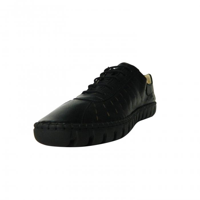 Pantofi dama din piele naturala, Julia, Gitanos, Negru, 37 EU 2