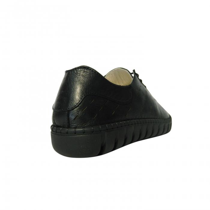 Pantofi dama din piele naturala, Julia, Gitanos, Negru, 37 EU 1